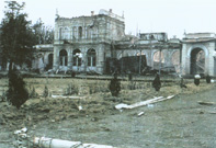 Kursalon after the Greater Serbian agression in 1991