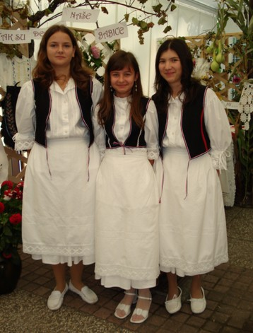 Croatian national costumes from Lepoglava, north of Zagreb
