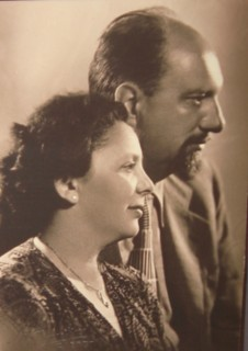 Rudolf and Margita Matz, Zagreb, around 1950