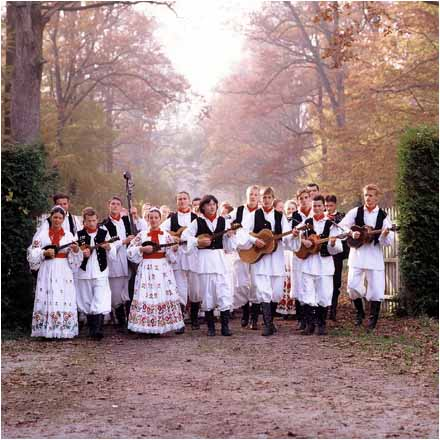 natioanl costumes from Croatian north