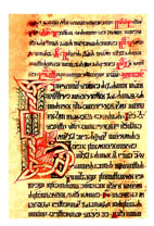 Glagolitic breviary, the Vatican, Borgiano Illirico 6, 14th century