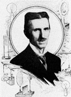 Nikola Tesla at the age of 60
