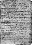 Letter of Petar Zrinski to Katarina